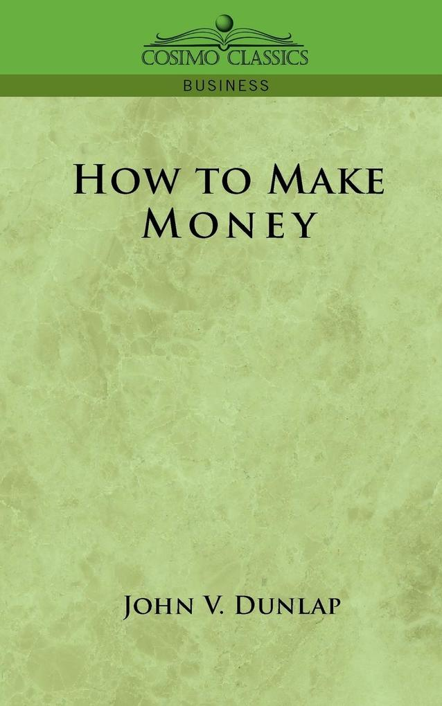 How to Make Money als Taschenbuch