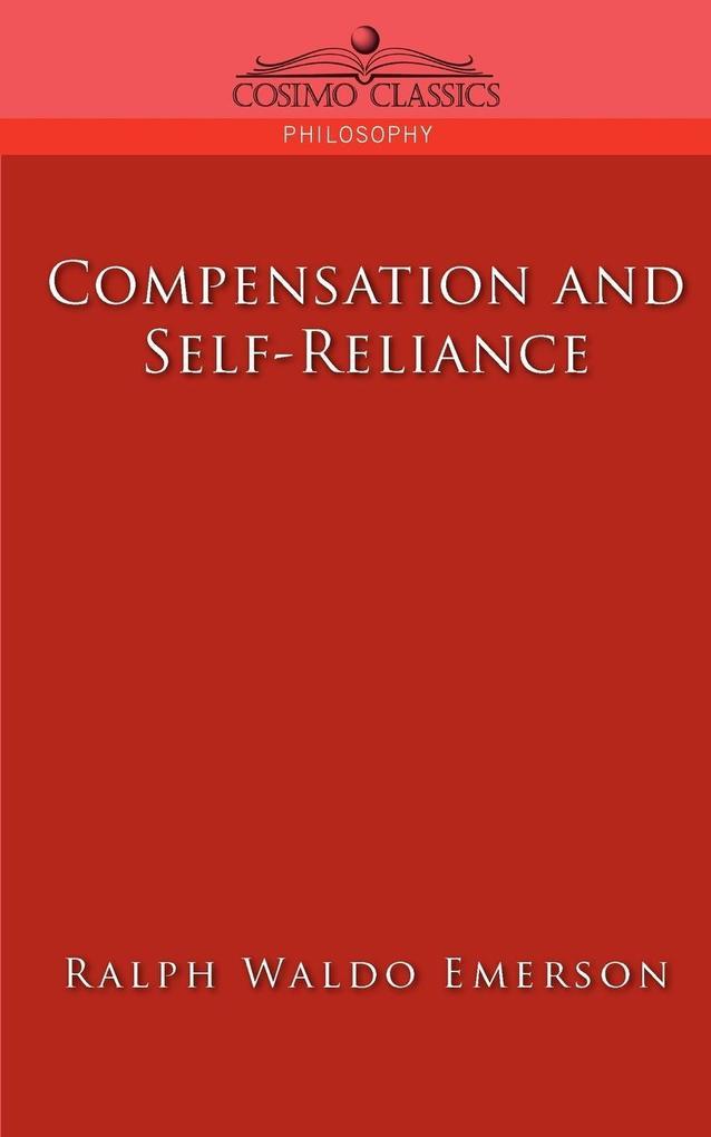 Compensation and Self-Reliance als Taschenbuch