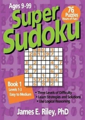Super Sudoku: Book 1 als Taschenbuch