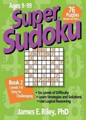 Super Sudoku Book 2 als Taschenbuch