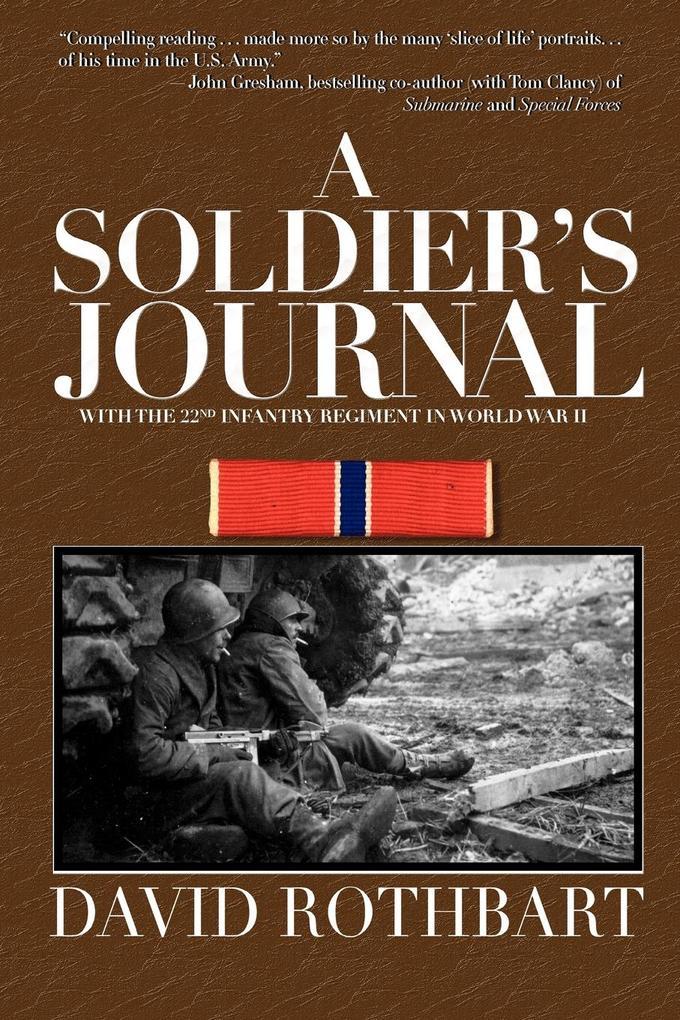 A Soldier's Journal als Taschenbuch