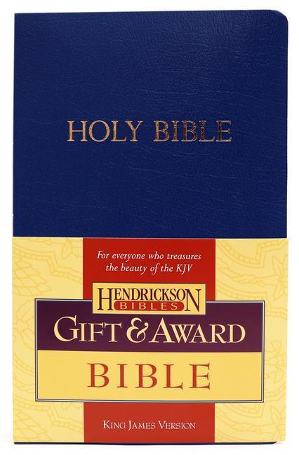 KJV Gift and Award Bible - Blue als Taschenbuch