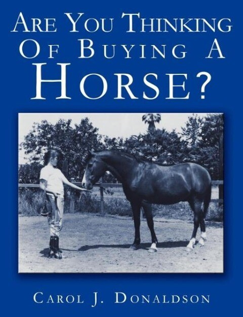 Are You Thinking of Buying a Horse? als Taschenbuch