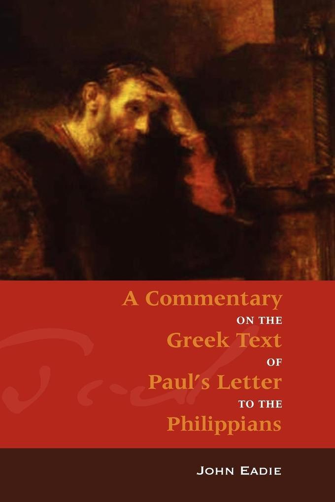 Commentary on Philippians als Taschenbuch