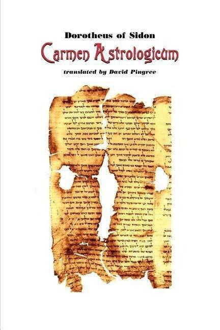 Carmen Astrologicum als Taschenbuch
