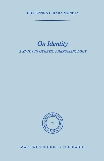 On Identity als Buch