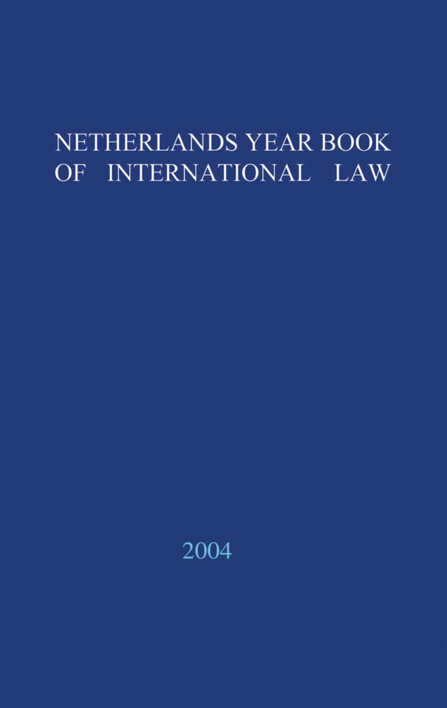 Netherlands Yearbook of International Law - 2003 als Buch