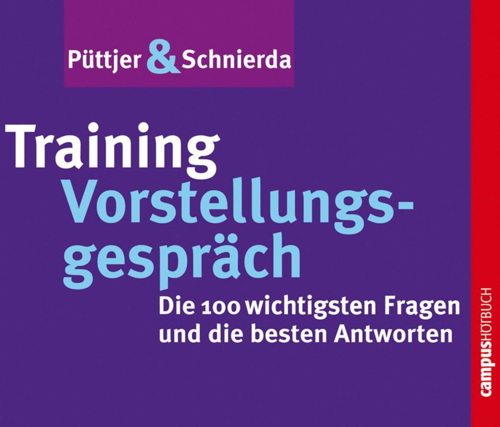 Training Vorstellungsgespräch als Hörbuch Download