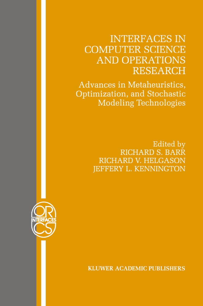 Interfaces in Computer Science and Operations Research als Buch