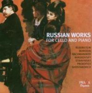 Russian Works For Cello & Piano als CD