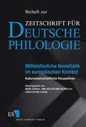 Mittelalterliche Novellistik im europäischen Kontext