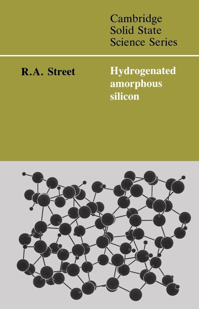 Hydrogenated Amorphous Silicon als Buch