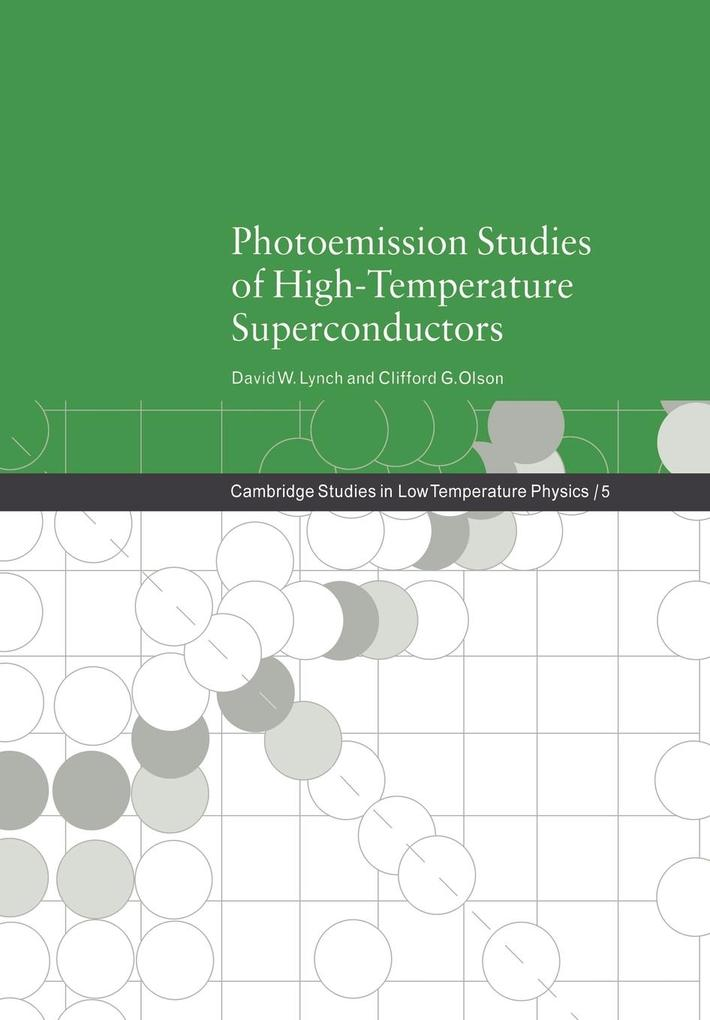 Photoemission Studies of High-Temperature Superconductors als Buch