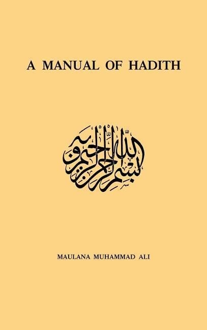 Manual of Hadith als Buch