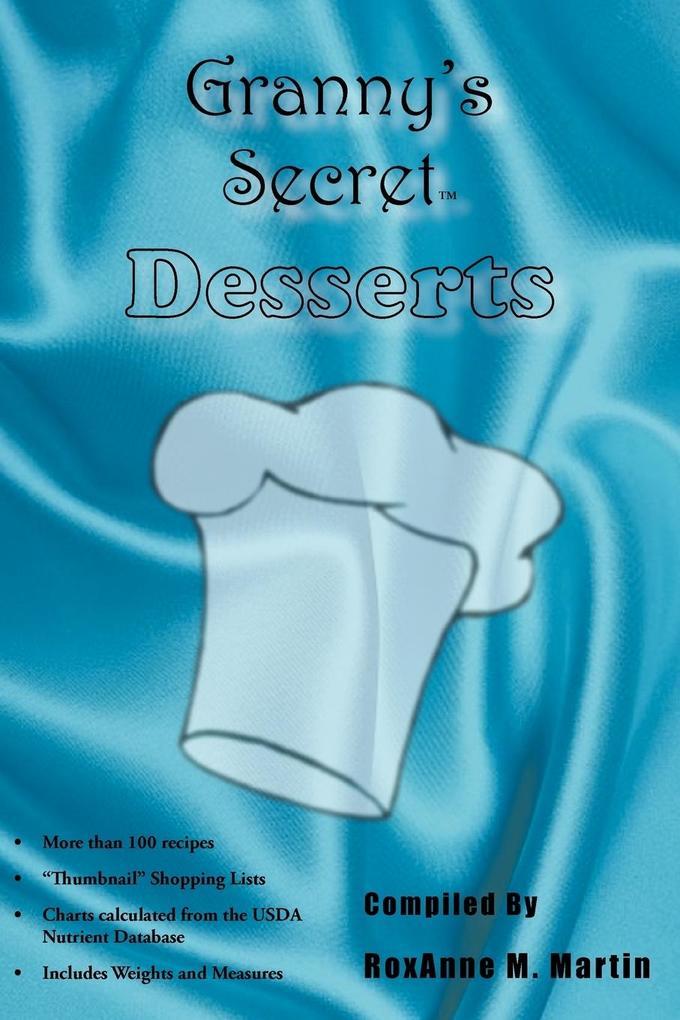 Granny's Secret Desserts als Taschenbuch