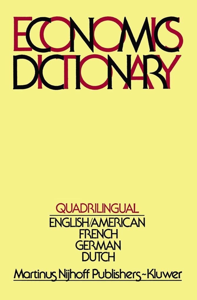 Quadrilingual Economics Dictionary als Buch
