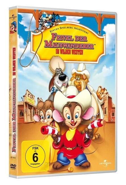 Feivel der Mauswanderer 2 - Im Wilden Westen als DVD