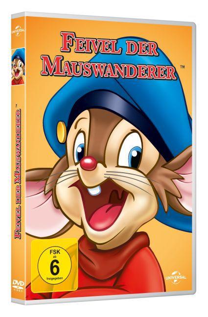 Feivel der Mauswanderer als DVD