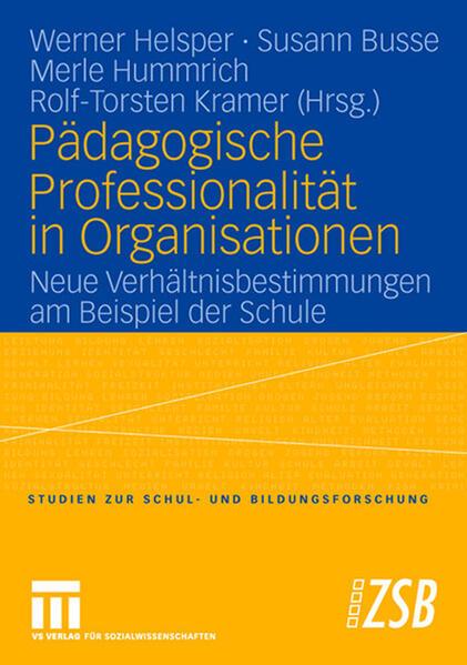 Pädagogische Professionalität in Organisationen als Buch