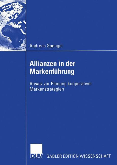 Allianzen in der Markenführung als Buch