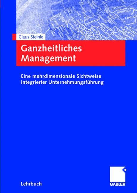 Ganzheitliches Management als Buch