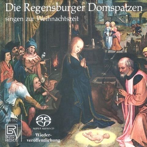 Die Regensburger Domspatz.Singen z.Weihnachtszeit als CD