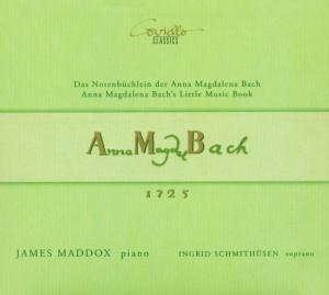 Notenbüchlein Der Anna Magdalena Bach (1 als CD