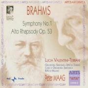 Sinfonie 1-Alto Rhapsody Op als CD