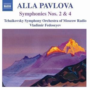 Sinfonie 2+4 als CD