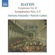 Sinfonien 1-5 als CD