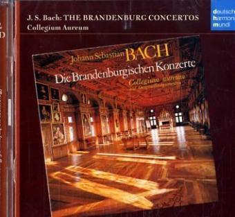 Brandenburgische Konzerte als CD