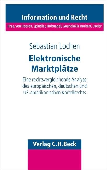 Elektronische Marktplätze als Buch
