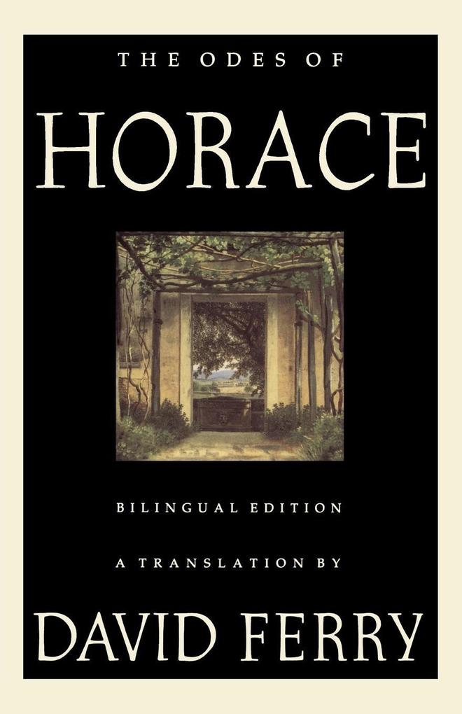 The Odes of Horace: Bilingual Edition als Taschenbuch