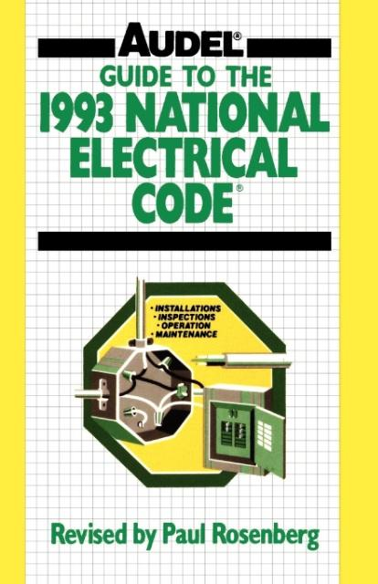 Guide to the 1993 National Electrical Code als Taschenbuch