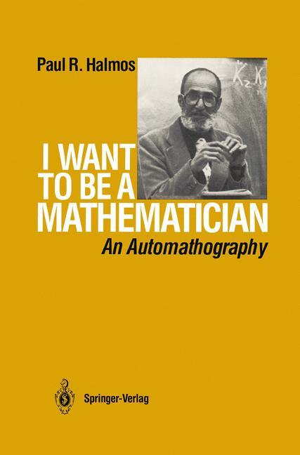 I Want to be a Mathematician als Buch