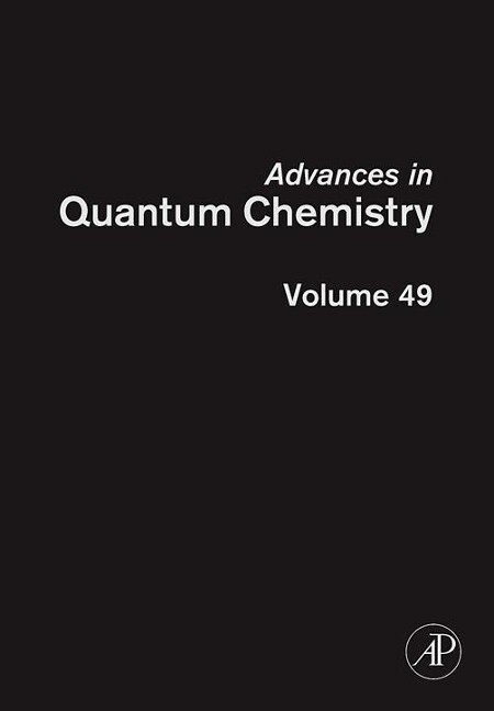 Advances in Quantum Chemistry als Buch