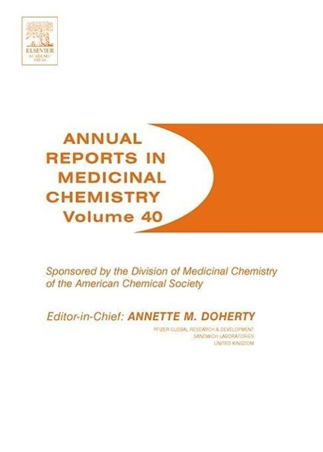 Annual Reports in Medicinal Chemistry als Taschenbuch