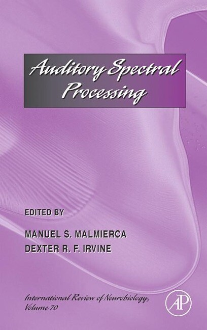 Auditory Spectral Processing als Buch