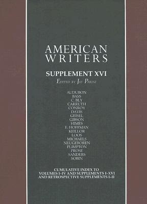 American Writers: A Collection of Literary Biographies als Buch