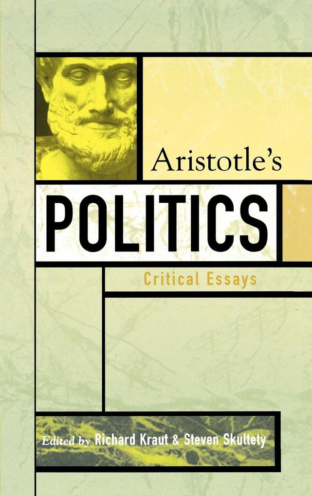 Aristotle's Politics: Critical Essays als Buch