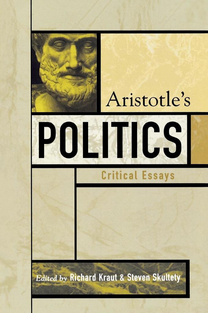 Aristotle's Politics: Critical Essays als Taschenbuch