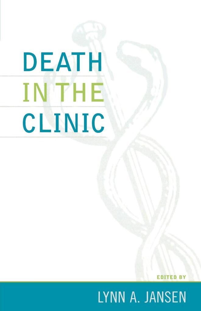 Death in the Clinic als Taschenbuch