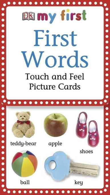 My First Touch & Feel Picture Cards: First Words als Spielwaren