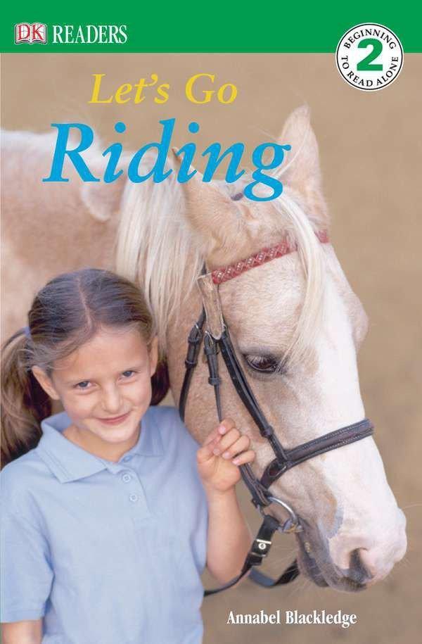 DK Readers L2: Let's Go Riding als Taschenbuch