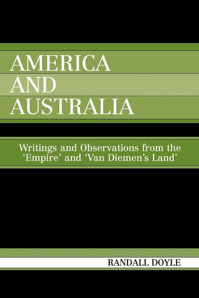 America and Australia als Taschenbuch
