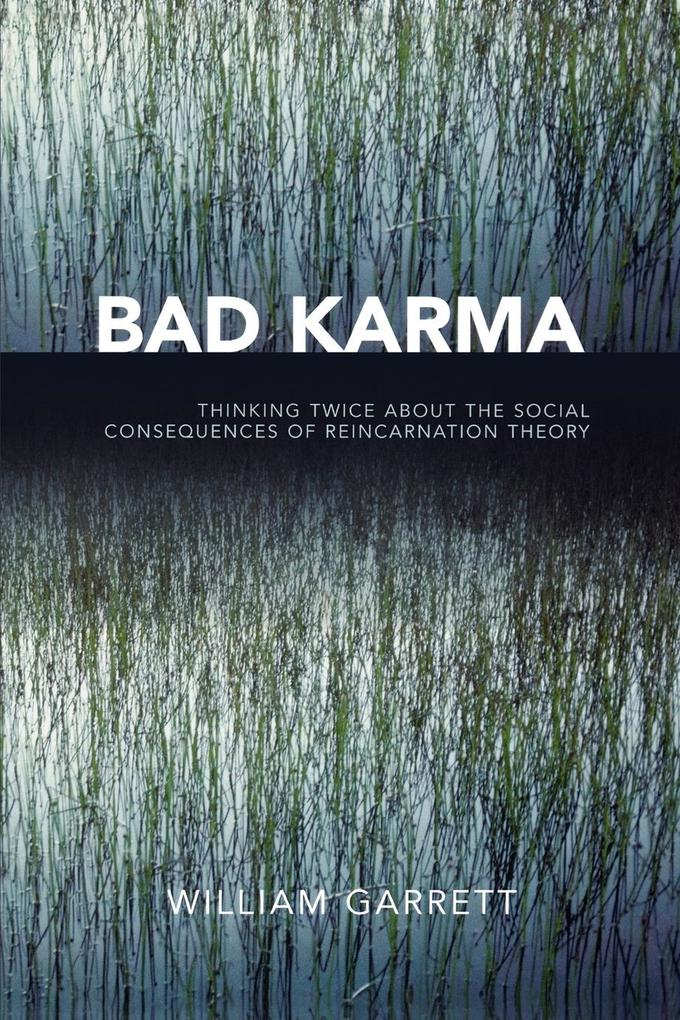 Bad Karma: Thinking Twice about the Social Consequences of Reincarnation Theory als Taschenbuch