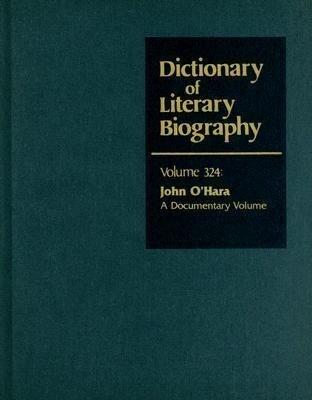 John O'Hara: A Documentary Volume als Buch
