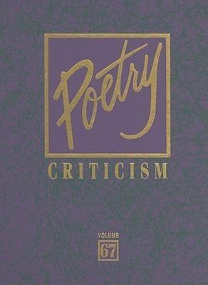 Poetry Criticism: Volume 67 als Buch