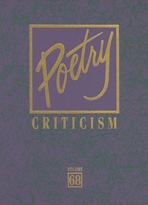 Poetry Criticism: Volume 68 als Buch
