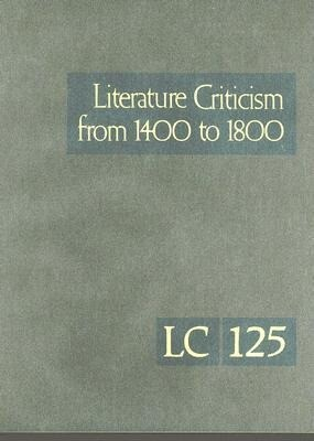 Literature Criticism from 1400 to 1800 als Buch